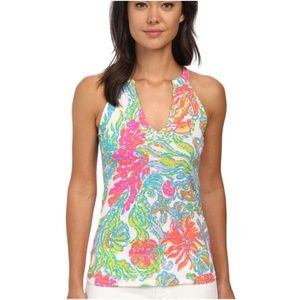 Lilly Pulitzer Arya Printed Tank Top | Medium NWOT